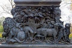 Часть постамента памятника Стоковые Фотографии RF