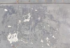 Часть предпосылки металла grunge воздушных судн Стоковое Фото