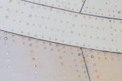 Часть предпосылки металла grunge воздушных судн Стоковая Фотография