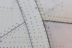 Часть предпосылки металла grunge воздушных судн Стоковые Фото