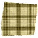Часть приданной квадратную форму бумаги Стоковая Фотография