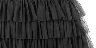 Часть платья Тюль Стоковое Изображение RF