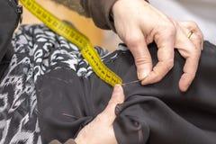 Часть работы dressmaker стоковое изображение