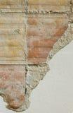 Часть разрушенной стены Стоковые Фото