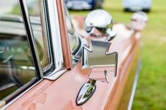 Часть ретро автомобиля Стоковые Фото