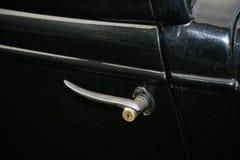 Часть ретро старого автомобиля Волги GAZ - a - первый завод пассажирского автомобиля - СССР 1930 Стоковые Фото
