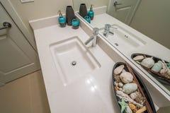 Часть роскошной ванной комнаты Стоковое фото RF