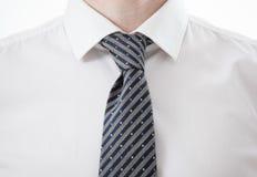 Часть рубашки и галстука бизнесмена Стоковое Изображение RF