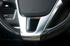 Часть рулевого колеса Стоковое фото RF