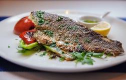 Часть рыб с перцем Стоковые Фотографии RF