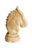 часть рыцаря шахмат Стоковое фото RF