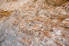 Часть скалы от песчаника Стоковые Фотографии RF
