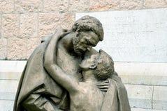 Часть скульптуры «возвращение Prodigal сына» стоковые фотографии rf