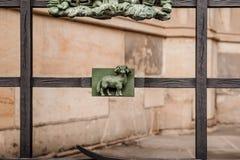 Часть собора St Vitus, Праги, чехии стоковое фото