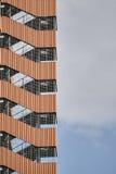 Часть современных офисных зданий Стоковая Фотография RF