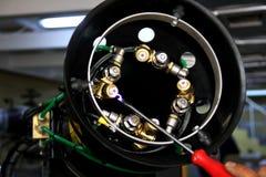 Часть сопла оборудования службы борьбы с грызунами и паразитами стоковое фото rf