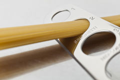Часть спагетти для 2 Стоковые Фотографии RF