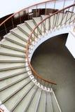 Часть спиральных лестниц стоковые изображения