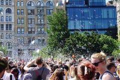 Часть 4 12 сражения NYC 2015 пузыря Стоковые Фотографии RF
