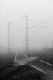 Часть станции железной дороги Стоковые Фото