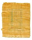 Часть старого египетского папируса от виска Karnak, долины Thebes, Луксора, Египта Античная рукопись, лист пергамента стоковые фото