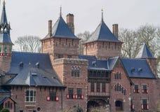 Часть старого замка от средних возрастов Стоковая Фотография RF