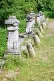 Часть старого каменного моста Стоковая Фотография RF