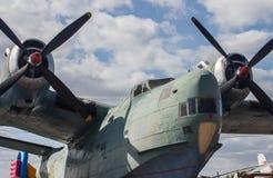 Часть старого корпуса летательного аппарата, тело воздушных судн Стоковое фото RF