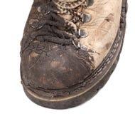 Часть старого пакостного пешего ботинка Стоковые Изображения RF