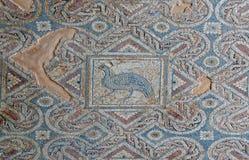 Часть старого пола мозаики Стоковое Фото