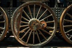 Часть старого промышленного поезда Стоковые Фото