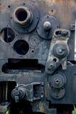 Часть старого ржавого механического инструмента показала стоковое фото rf
