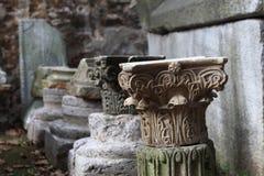 Часть старого столбца Стоковое Изображение