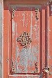 Часть старой деревянной двери Стоковые Фото