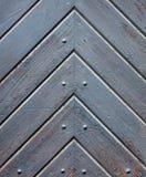 Часть старой средневековой двери стоковые фото