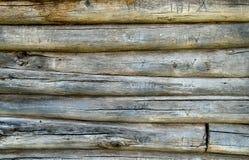 Часть старой timbered стены Стоковое Изображение RF