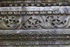 Часть стародедовской стены Стоковые Фото