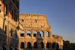 Часть стены Колизея Colosseum в Риме, Италии Стоковые Изображения