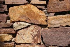 Часть стены песчаника Стоковые Изображения RF