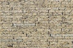 Часть стены сделанной камня искусственная голубая светлая каменная стена Стоковая Фотография RF
