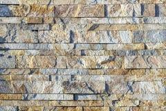 Часть стены сделанной камня искусственная голубая светлая каменная стена Стоковое фото RF
