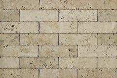 Часть стены сделанной камня искусственная голубая светлая каменная стена Стоковые Фото