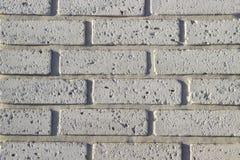 Часть стены сделанной камня искусственная голубая светлая каменная стена Стоковое Изображение RF