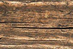 Часть стены старого деревянного дома Стоковые Фотографии RF