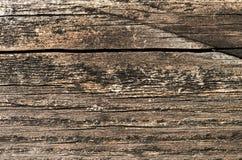 Часть стены старого деревянного дома Стоковое Фото