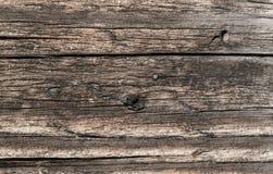 Часть стены старого деревянного дома Стоковая Фотография RF