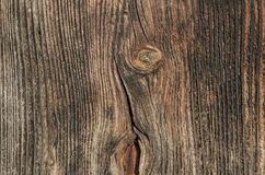 Часть стены старого деревянного дома Стоковая Фотография