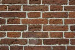 Часть стены старого дома кирпича Стоковая Фотография RF
