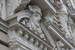 Часть стиля Jugenstil Nouveau искусства Стоковая Фотография RF