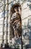 Часть строба Petrovsky Питера Статуя Стоковое Фото